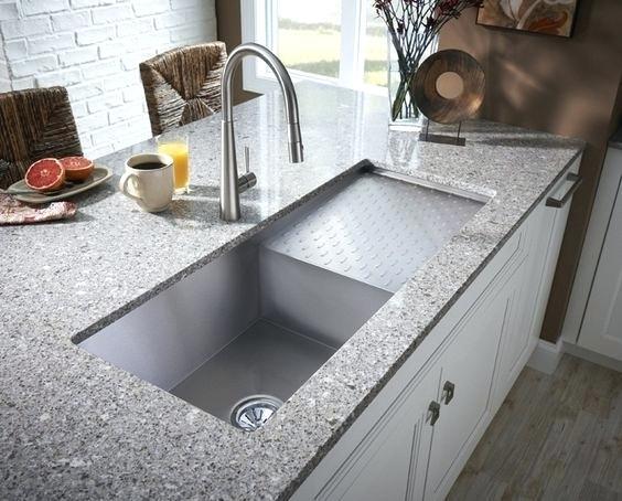 Undermount And Top Mount Kitchen Sinks
